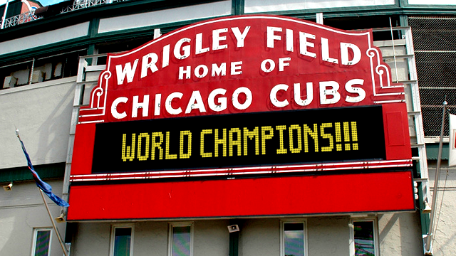Wrigley Field - Home of Chicago Cubs World Champions!